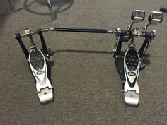 Used Pearl P2002C Eliminator Double Bass Drum Pedal Good Condition