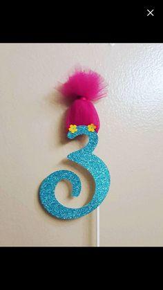 Troll's Birthday Party Decoration