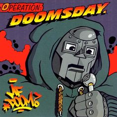 MF Doom, Operation: Doomsday | 23 Classic Album Covers That Are Even Better As Animated GIFs