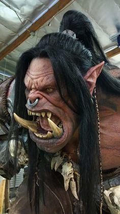 m Orc Warrior portrait Orc Warrior, Fantasy Warrior, Fantasy Art, Warcraft Art, World Of Warcraft, Grommash Hellscream, Grom Hellscream, Desenho Tattoo, 3d Prints