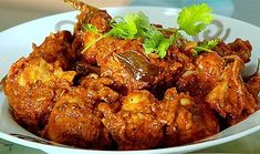 Spicy Dry chicken curry