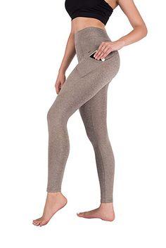 13d50190f High Waist Yoga Pants Tummy Control Workout Leggings for Women