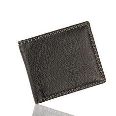 Men Leather Card Cash Receipt Holder Organizer Bifold Wallet Purse Black New | Clothing, Shoes & Accessories, Men's Accessories, Wallets | eBay!