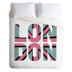 Zoe Wodarz London Called Duvet Cover   DENY Designs Home Accessories