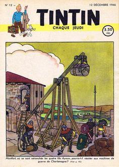 Le Journal de Tintin - Edition Belge - N°  12 - 1946-12 - Jeudi 12 Décembre 1946 - Couverture : Jacques Laudy