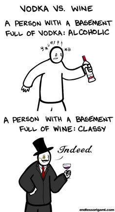 Vodka vs. Wine - Its all about context