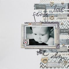 Digital Scrapbook Layout Colour - Hot Trends from Paper Scrapbooking Washi Tape + WIN. Scrapbook Sketches, Scrapbook Page Layouts, Scrapbook Designs, Baby Scrapbook, Scrapbook Paper Crafts, Scrapbook Cards, Scrapbook Journal, Wedding Scrapbook, Book Covers