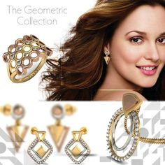 Your World. Shape It Yourself...Or Someone Else Will! Present the ultra-chic and modern 'Geometric' Collection! This one is for the fashionistas!! ttp://goo.gl/myxeZq