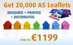 Leaflet Design, Leaflets, A5, Prints, Brochures, Flyers, Flyer Design