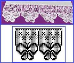 Resultado de imagen para mariposas tejidas a crochet paso a paso