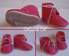 Думаю, стоит попробовать сшить такие замечательные ботиночки)…