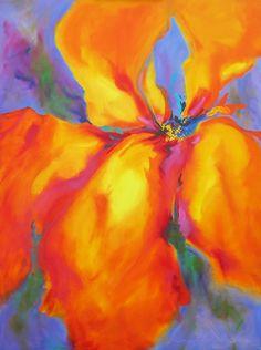 "Saatchi Online Artist: Ginny Blakeslee Breen; Oil, 2007, Painting """"Sacred Temple"""""