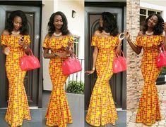 Lovely Ankara Gown Design for Ladies http://www.dezangozone.com/2016/08/lovely-ankara-gown-design-for-ladies.html