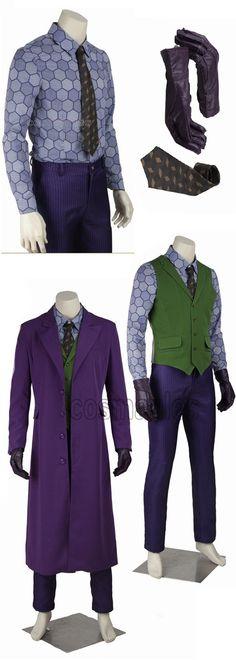 Dunkler Lila Outfit Mantel Herren Joker Anzüge Ritter k0OwP8nX