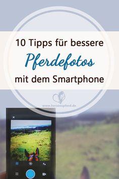 10 Tipps für bessere Pferdefotos mit dem Smartphone.