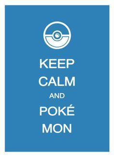 Keep calm and pokemon. #keep_calm #pokemon