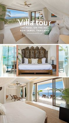 Discover eco luxury in Thailand: The Pool on the Hill is a private villa in Thailand with a chlorine-free freshwater infinity pool, solar power, rainwater showers & more. Our private villa is located in Koh Samui Thailand near Choeng Mon Beach. See inside, take a house tour and book your stay at www.poolonthehill.com/?utm_content=buffer3a032&utm_medium=social&utm_source=pinterest.com&utm_campaign=buffer