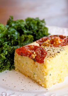 Helyn's Healthy Kitchen: Roasted Garlic and Tomato Polenta. Vegan!