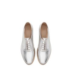 Image 1 of PATENT BLUCHER from Zara