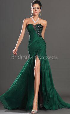 Sexy Dark Green Mermaid Bridesmaid Dresses