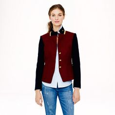 J.Crew - Schoolboy blazer in colorblock  On Sale - $229 (Before $298)