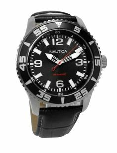 Nautica NST 07 3-Hand Men's watch #N09611G NAUTICA. Save 30 Off!. $66.70. Model: N09611G. Condition:brand new with tags. Dial color: black. Brand:Nautica. Band color: black