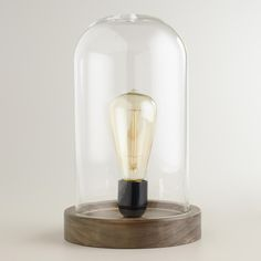 Edison Glass Table Lamp | SharpHeels
