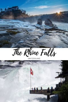 Rhine Falls Switzerland, Places To Travel, Places To Visit, Places Worth Visiting, Family Travel, Mystery, Europe, Facts, River