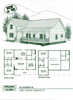 Log Cabin Floor Plans | Erection Services Available CALL US NOW AT 1-800.726.0708 You'll Love ...