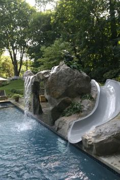 Jake and Kassie gave this pool the thumbs up!  FUN