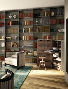 Piazza Venezia - Interior Design | Living - RNDR Studio www.rndrstudio.it