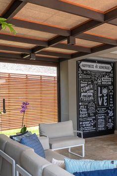 Balcony Design, Deck Design, Dream Home Design, House Design, Outdoor Fireplace Patio, Diy Table Legs, Outdoor Shutters, Art Deco Door, Spanish Bungalow