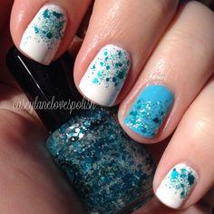 Instagram photo by caseylanelovespolish  #nail #nails #nailart