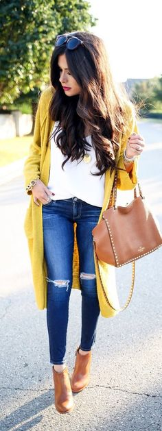 Cute work outfits for teens casual best outfits - page 8 of 11 - work-outfi Casual Outfits For Girls, Cute Work Outfits, Outfits Otoño, Neue Outfits, Trendy Outfits, Winter Outfits, Spring Outfits Women Over 30, Summer Outfits, Trendy Jeans