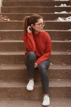 High Neck Ribbed Knit Sweater – Willkommen in meiner Welt Best Photo Poses, Girl Photo Poses, Girl Poses, Model Poses Photography, Grunge Photography, Urban Photography, White Photography, Newborn Photography, Senior Girl Photography