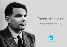 He created not only a computer but the new way of thinking. Today we are saying thanks and celebrating Programmer's Day!