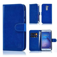 32nd Book wallet case   stylus for Huawei Honor 6X - Deep Blue | Fruugo