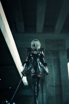 Cosplayer: Onnies (AlpacONNIESM) Character: 2B Video Game: NieR:Automata