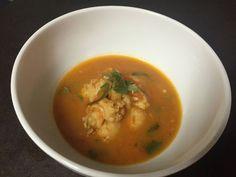 Brazil-inspired shrimp soup