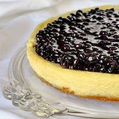 Blueberry Sour Cream Flan - sounds odd, tastes incredible! - Rock Recipes