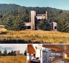 "Louis Residence, The Sea Ranch, CA ""Another great Sea Ranch original by architect Obie Bowman, one of my favorite architects"". -- Carol Kozal"