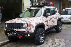 Jeep Renegade ready for an off-road adventure! Off Road Jeep, Jeep Patriot, Jeep 4x4, Suzuki Cars, Badass Jeep, Jeep Camping, Jeep Mods, Cool Jeeps, Counting Cars