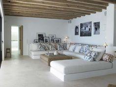 Living Room Bedroom, Living Room Decor, Living Spaces, Built In Furniture, Antique Furniture, Rustic Furniture, Bohemian Style Bedrooms, Modern House Design, Villa Design