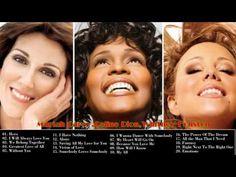 (2) BEST OF Mariah Carey,Celine Dion,Whitney Houston GREATEST HITS (NEW 2017) - YouTube