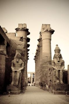 Photographic Print: Poster of Egypt, Luxor, Luxor Temple by Michele Falzone : Egyptian Temple, Luxor Temple, Egyptian Art, Ancient Aliens, Ancient History, Ancient Greek, Egyptian Drawings, Giza Egypt, Old Egypt