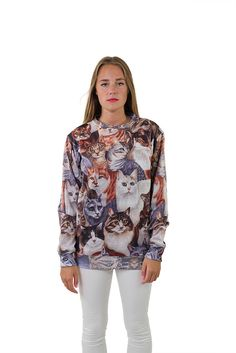 Cat Sweatshirt by Beloved Shirts
