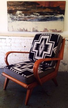 Pair of Haywood Wakefield Pendleton Lounge Chairs in Mission District, San Francisco ~ Apartment Therapy Classifieds