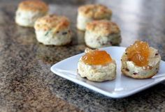 Bacon and Chive Biscuits - Photo: Diana Rattray