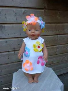 BabyBorn 43cm: Zomerkleding | Nappi.nl Patroon eigen ontwerp