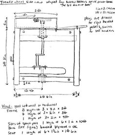 Treadle Wheel Blueprints!  (find the whole thing at http://www.duke.edu/~msm5/pictures/treadle_plans.html )